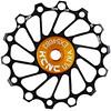 KCNC Jockey Wheel SS Bearing Narrow Wide 14 denti nero